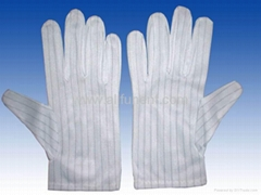 ESD glove/cleanroom glove/antistatic glove