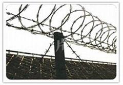 spiral type razor barbed wire