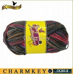 Nylon / wool Blended yarn for knitting (CK285-B)