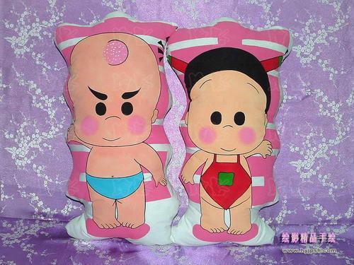 手绘抱枕-人形枕头-动漫周边 2