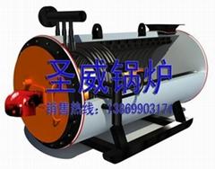 卧式燃油气导热油炉