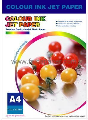 High Glossy Coated Inkjet Photo Paper, Waterproof 1