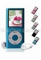 free-shipping cheap mp3 mp4  player 4GB (II generation) with  Silicon case