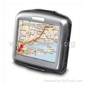 (free ship) 3.5-Inch Portable Vehicle GPS Navigator+2GB SD Card+Maps for Europe