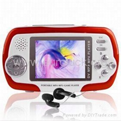4GB 2.4-inch Display, MP4 Player 2.0M Pixel, SD/MMC Card - Red not free shipping