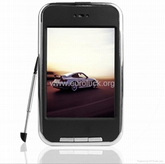 free-shipping 4GB cheap mp3 Mp4 players (Touch Scrreen) with Silicon case