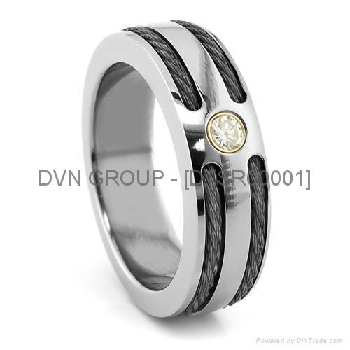 Silver Plated Wedding Band