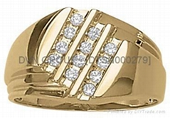 14kt GoldPlated CZ Rings