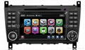 car dvd and gps for Benz C class w203