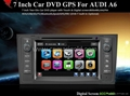 car dvd and gps for audi a6