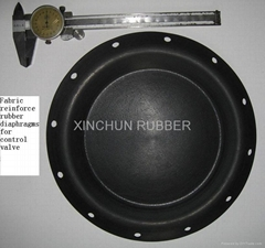 Sell Rubber Fabric Reinforced Diaphragms