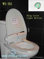 electronic toilet seat/bidet seat/toilet