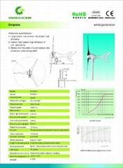 Dolphie wind generator