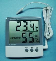 Digital thermometer & Hygrometer indoor/outdoor