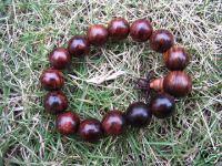 Hainan Huali Rose Wood~Tibetan~Bead