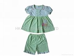 baby clothes set 100%cotton