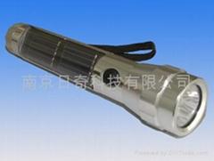 10 led solar torch