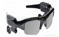 MP3 DVR Sunglasses with Camera+Video+Flash+TF Slot