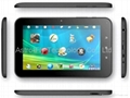 7 inch Capacitive Touch Screen Android 2.3/4.0 Tablet PC with WiFi