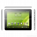 9.7inch Retina IPS Quad Core Tablet PC with Android 4.1, 5M Camera