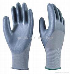 Nitril latex gloves