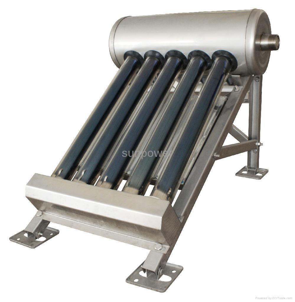 Small Sample Solar Water Heater Spo 5 Sunpower China