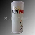 solar water storage tank