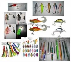 fishing lures, fishing bait, trolling lure, tuna lure, spoon, spinner bait