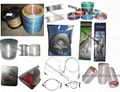 fishing line, braided line, fly line, fishing net rope, monofilament line.