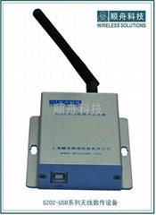 ZIGBEE转USB无线组网数传设备