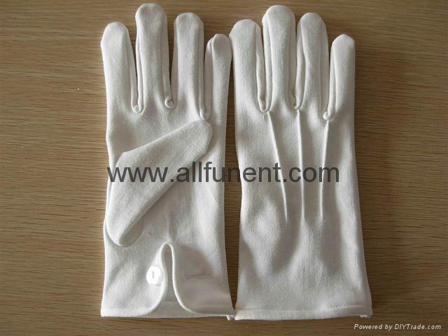 全棉禮儀手套 3