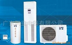 Heat pump water heater air conditioner