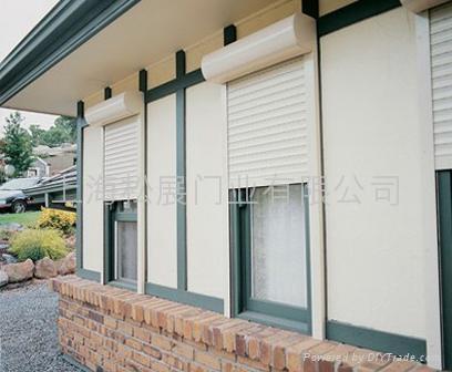 歐式鋁合金捲簾窗 1