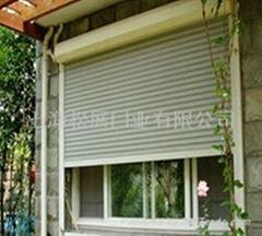 高级遥控欧式卷帘门窗