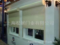 高级遥控欧式卷帘门窗 5