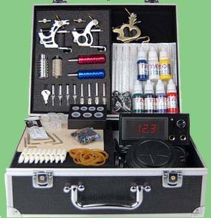 Tattoo Machine, Tattoo Kit, Tattoo Needle, Tattoo Power - Tatoo kit-001