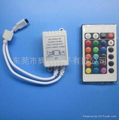 24鍵紅外LED控制器