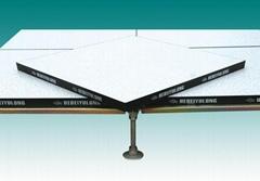 无机质胶边防静电架空活动地板