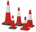 PE&rubber Traffic Cone