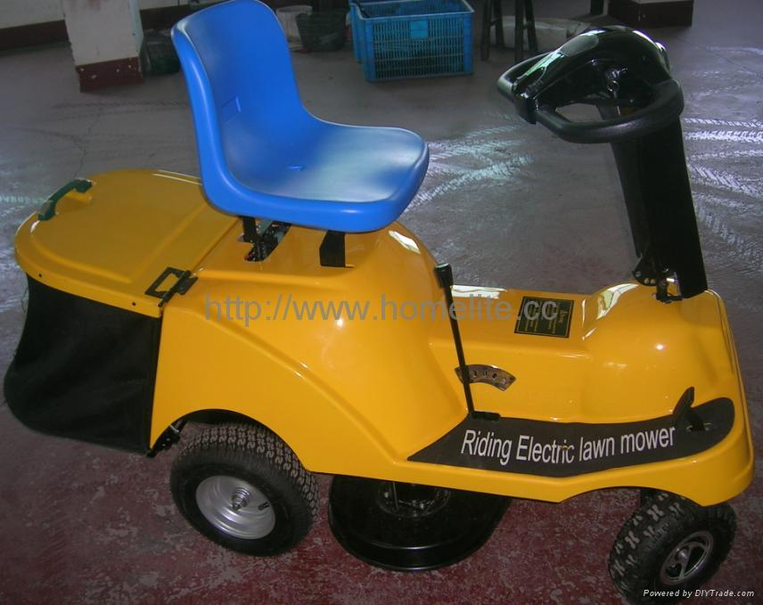 Electronic Ride on Mower