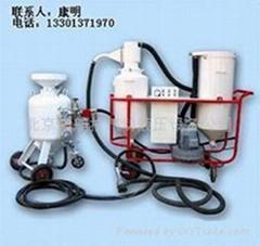 循環回收環保噴砂機