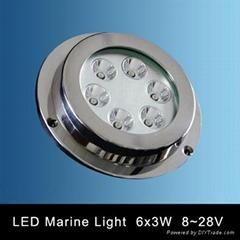 LED Yacht Light, Underwater Marine Lamp