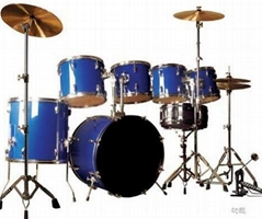 High grade drum set