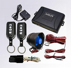 One way car alarm with programmable functions,CE & FCC certified