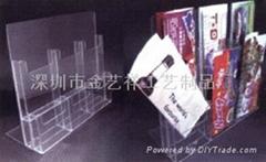 有机玻璃资料架、名片座、亚克力名片盒