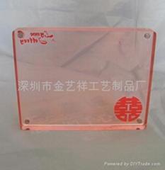 有机玻璃相座、亚克力相框、名片座、亚克力名片盒