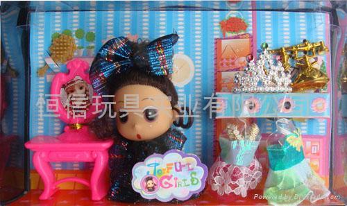 迷糊娃娃,精美礼品盒包装