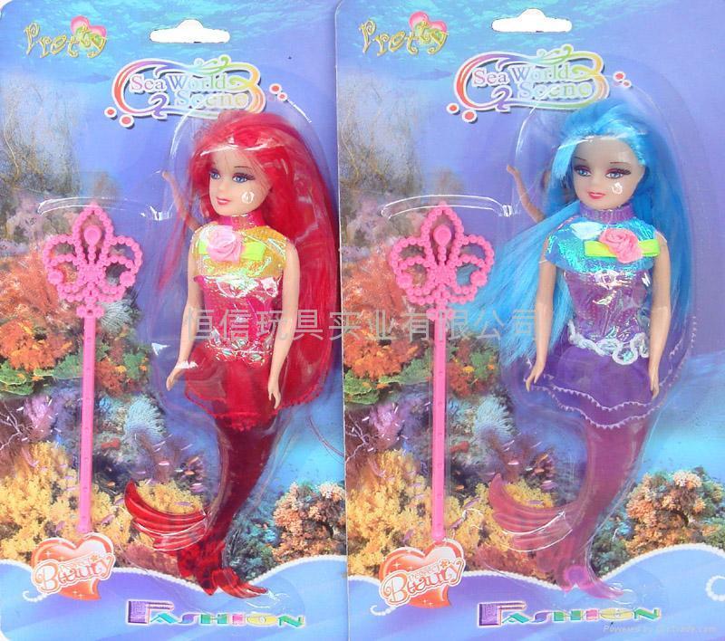 美人魚芭比娃娃 1