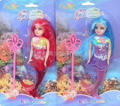 美人鱼芭比娃娃