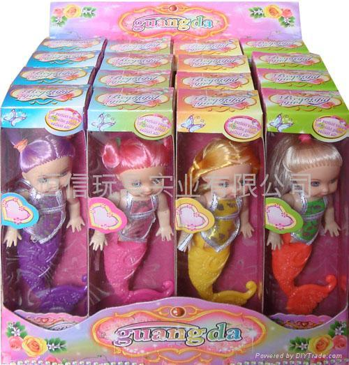 美人魚芭比娃娃 3
